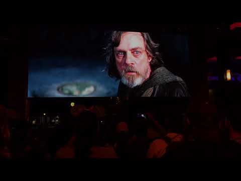Live Star Wars: The Last Jedi Trailer at Downtown Disney Disneyland Resort