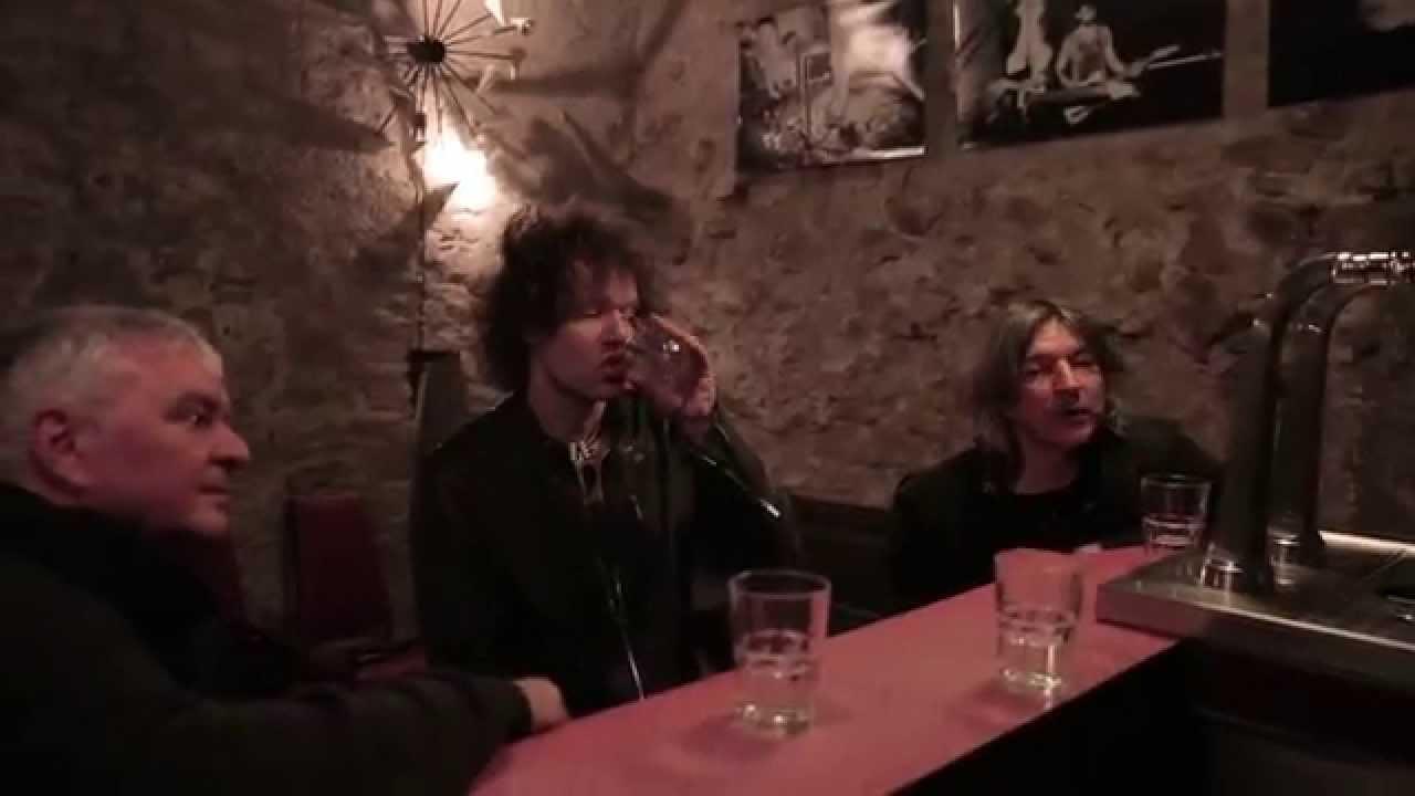 Capture d'écran de la vidéo Les Young Gods se confient