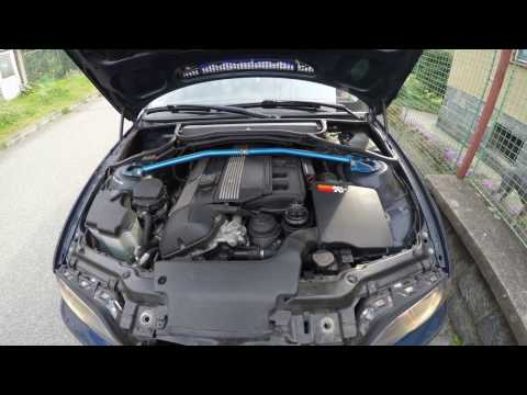 BMW E46 320i K&N Air Filter in Airbox - Sound