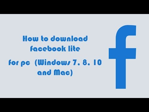 Facebook Lite on PC - Download for Windows 7, 8, 10 and Mac