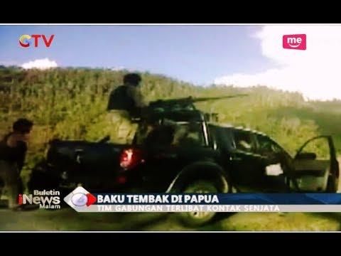 Begini Video Situasi Baku Tembak TNI dengan KKB di Mbua, Papua - BIM 05/12
