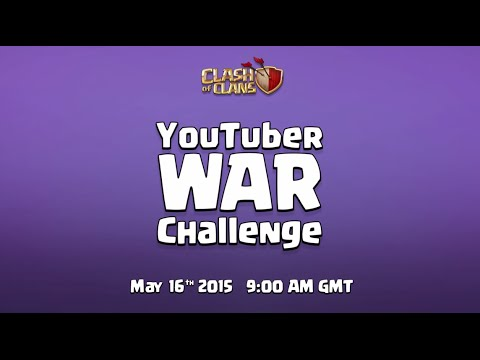 Clash of Clans – Live YouTuber Clan War (Full Stream) Full In English