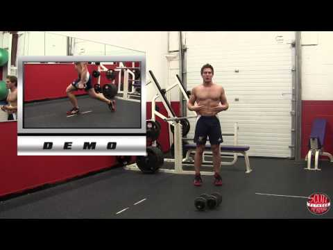 Dumbbell Alternating Rear Lunge