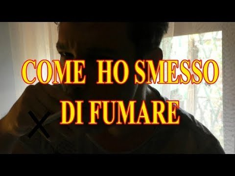 Come smettere di fumare il video da malyshevy