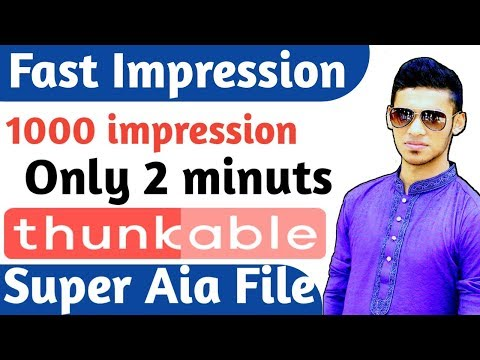 Auto Impression Aia File admob best self click aia file 2018