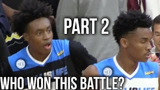 Collin Sexton & Jaylen Hands GO AT IT AGAIN at the BIL All American Game!