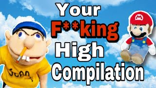 """Jeffy Says """"Are You High?"""" Compilation"""