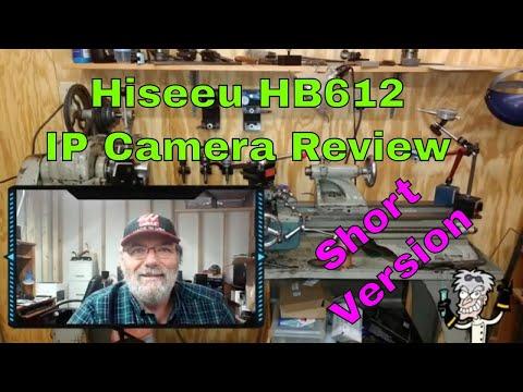 Short - Banggood Review - Hiseeu HB612 IP Camera