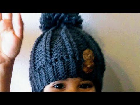 👦👧GORRO INVIERNO en crochet (ganchillo) UNISEX ❤