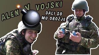 Opravil je vojaški poligon in dali so mu OROŽJE   ALEN V VOJSKI 2/4