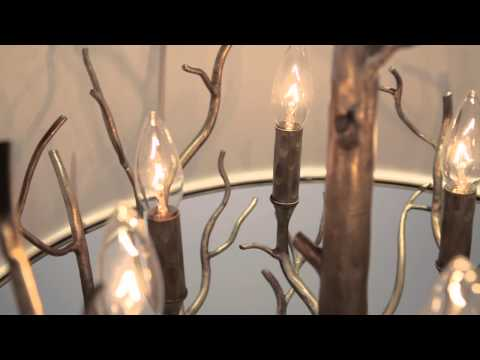 Video for Whitman Vienna Bronze Six Light Pendant