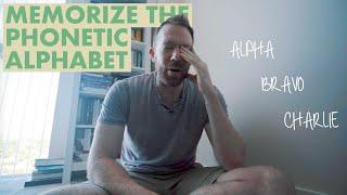 Memorizing the NATO Phonetic Alphabet (QUICKLY!)
