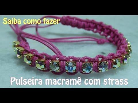 Pulseira Macramê