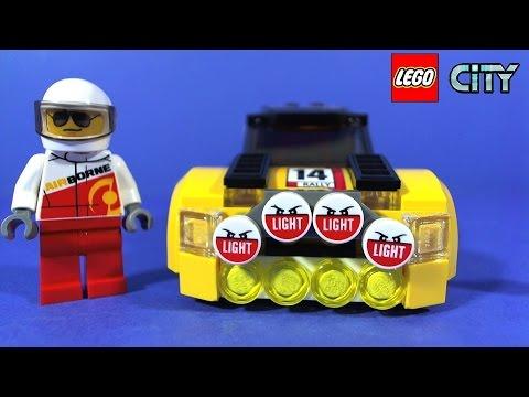 Vidéo LEGO City 60113 : La voiture de rallye