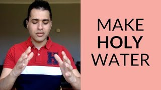 How to Bless Water for Healing | Holy Water Recipe