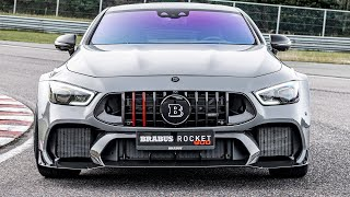[YOUCAR] Brabus Rocket 900 - One Of Ten (2021) The Most Aggressive Mercedes-AMG GT63S