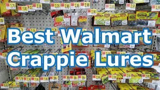 Best 5 Walmart Crappie Lures and Baits - Tips and Techniques