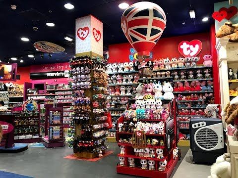 BEANIE BOO SHOPPING AT BIGGEST TOY SHOP IN LONDON (Hamleys)