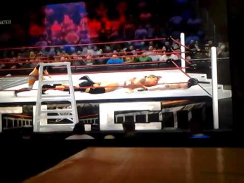 WWE TLC MATCH AJ vs Scott Steiner vs JBL vs Lesnar