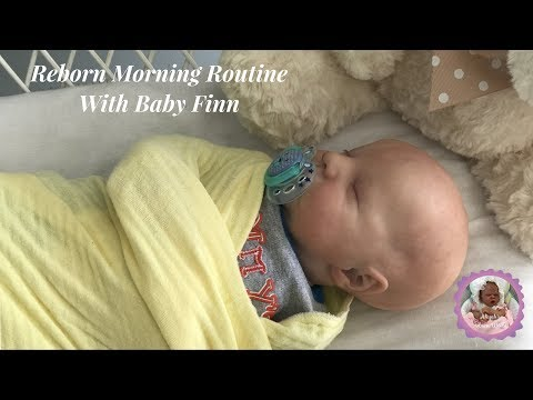 Reborn Morning Routine With Baby Finn