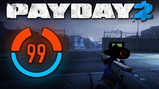 99 Detection Risk Solo Stealth (Payday 2 Mod, Shadow Raid, One Down)