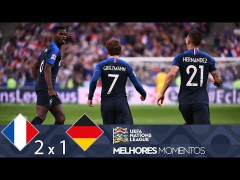 FRANÇA 2 X 1 ALEMANHA - MELHORES MOMENTOS - UEFA NATIONS LEAGUE (16/10/2018)