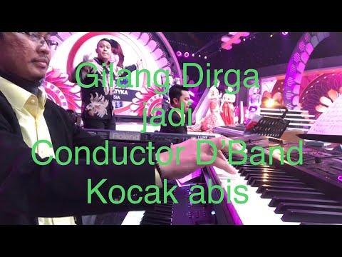 Gilangg Dirga jadi Conductor D'Band 😂😂😂