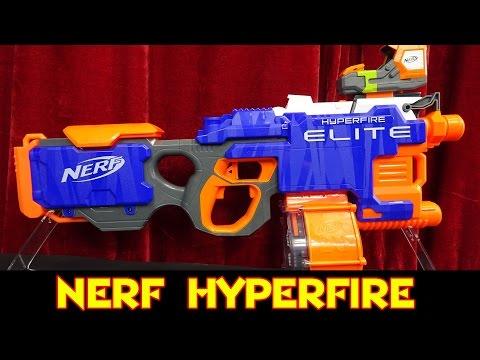Nerf HYPERFIRE - Review / Test / Vergleich mit Rapidstrike + Stryfe