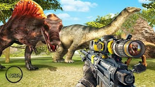 CARNIVORES DINOSAUR HUNTING SNIPER HELICOPTER - Walkthrough Gameplay - INTRO (Android)