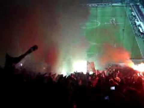 Milan vs. Werder , Bengalos, 26.02.09, San Siro