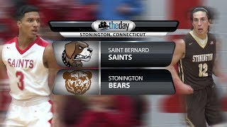 Full replay: St. Bernard at Stonington boys' basketball