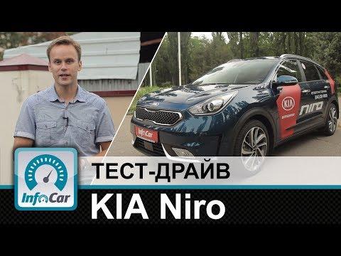 Kia  Niro Паркетник класса B - тест-драйв 1