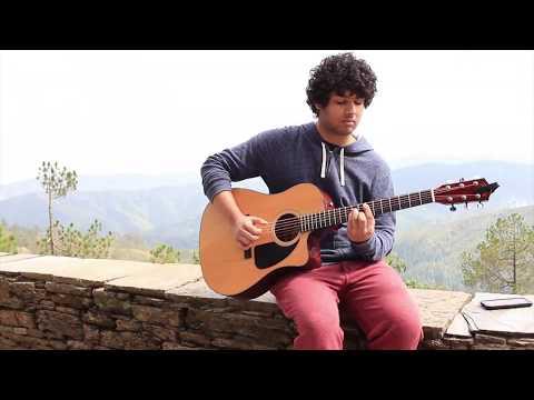 Krsnav Guitarist in Homestay
