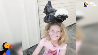 Girl With Autism Is A Chicken Whisperer | The Dodo