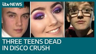 Three teenagers dead after 'crush' at St Patrick's Day disco | ITV News