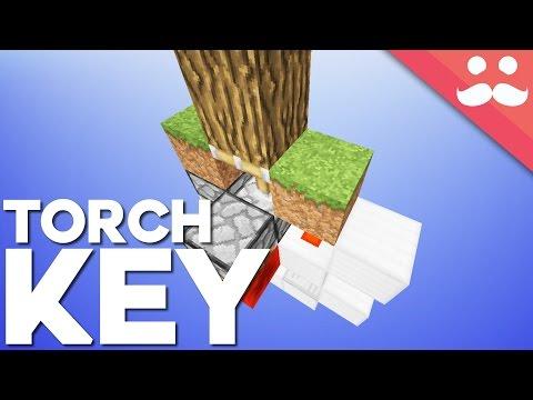 Minecraft Walkthrough Torch Key Hidden Door Day 17 By