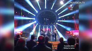 Can Bonomo - Love me back (Turkey) 2012 Eurovision Song Contest
