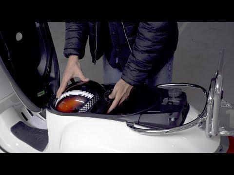 Vespa GTS 300 Helmfach - Welcher Helm passt hinein ?