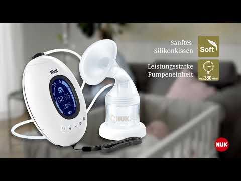 Elektrische Milchpumpe von NUK Nature Sense: Sanft und flexibel
