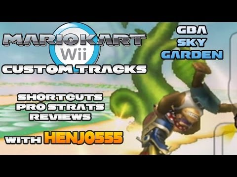 Mario Kart Wii Walkthrough Custom Tracks Gcn Mushroom