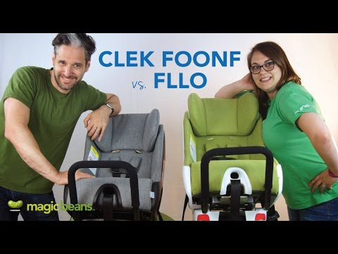 Clek Foonf vs. Clek Fllo Convertible Car Seat | Best Most Popular | Reviews | Comparisons