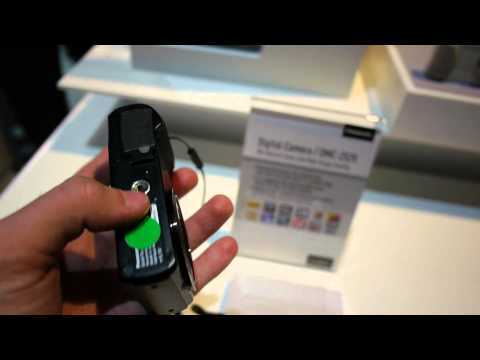 Panasonic Lumix DMC-ZS25 Camera Hands On at CES 2013