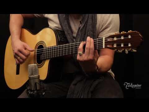 Takamine TH90  Classical Guitar Demo. For ESP/Takamine Guitar Company.