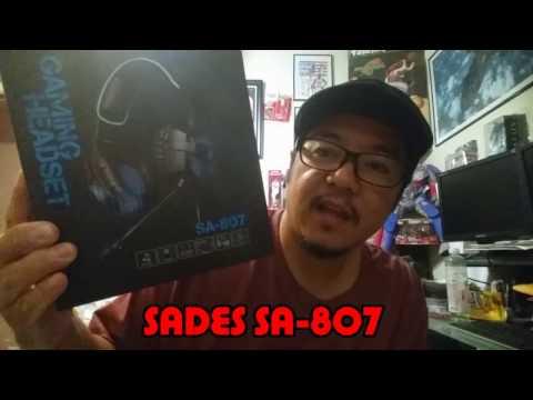 SADES SA-807 2016 Gaming Headset Xbox One PS4 PC