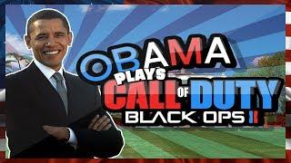 Obama Plays Black Ops 2!