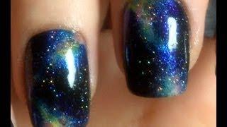 Galaxy Nail Art - ZombieKitty