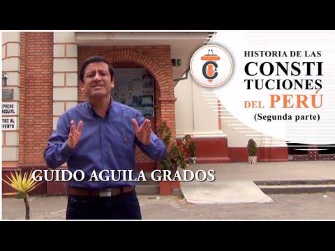 HISTORIA DE LAS CONSTITUCIONES DEL PERÚ (PARTE II) Tribuna Constitucional 73 Guido Aguila