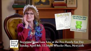 Storytime Lane- Live at the Newcastle Writers Festival Sunday 8th April 2018