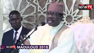 Serigne MAODO Sy dabakh Gamou tivaouane 2018 mosquée SEYDIL