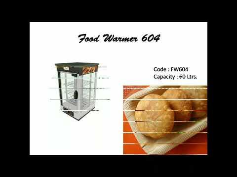 Akasa Indian SS Food Warmer Hot Case- 60Ltr.- 3 Shelf